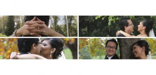 Tania &amp; Vinhs Melbourne Same Day Edit SDE Wedding Video Trailer {I choose you above all}