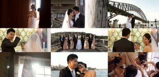 Anna & Rocky's Same Day Edit SDE Wedding Video Trailer {That's the Blue Steel Look}